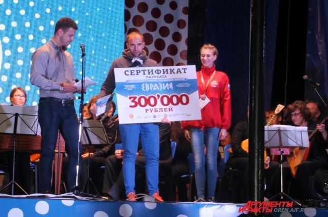Один из победителей грантового конкурса - Виктор Богданов.