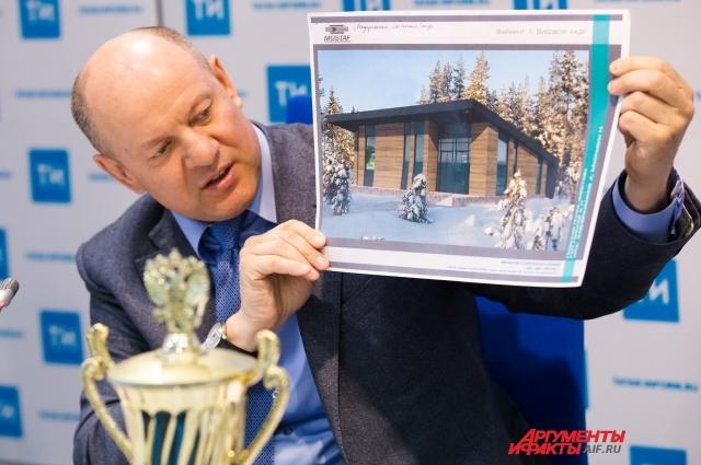 Вот такие лыжные базы появятся в 11 районах Татарстана.