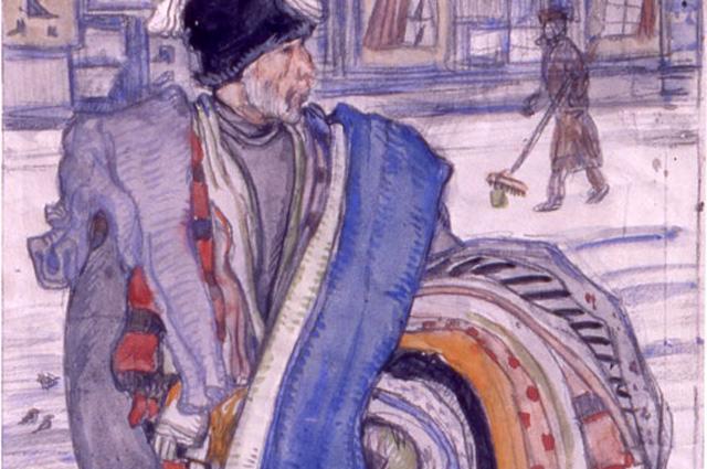 Картина М.Добужинского «Татарин», 1909 г.