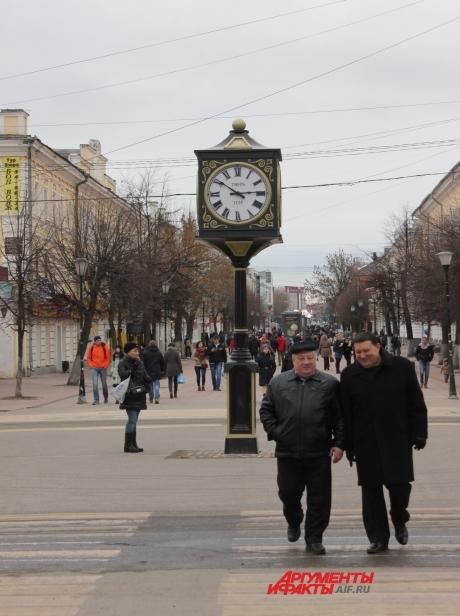 Улица Трехсвятская