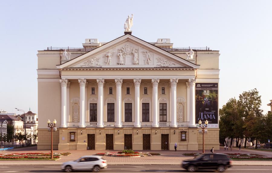 театр оперы и балета в казани, оперный театр в казани, театр Мусы Джалиля