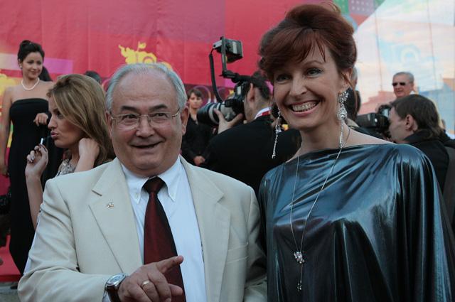 Всеволод Шиловский c супругой.