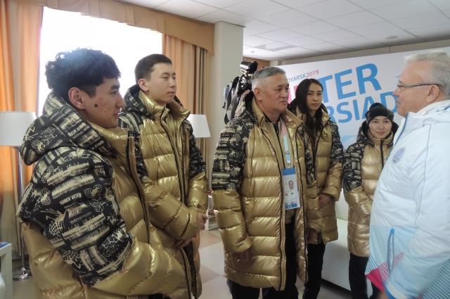 Делегация из Казахстана.