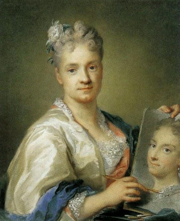 Розальба Карьерра. Автопортрет с портретом сестры.