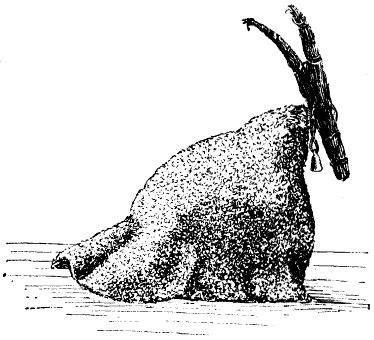 Иллюстрация с изображением рождественского козла начала 1900-х.