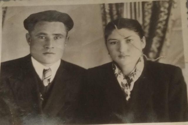 После войны Бибинур вышла замуж за фронтовика Рашита Лутфуллина.
