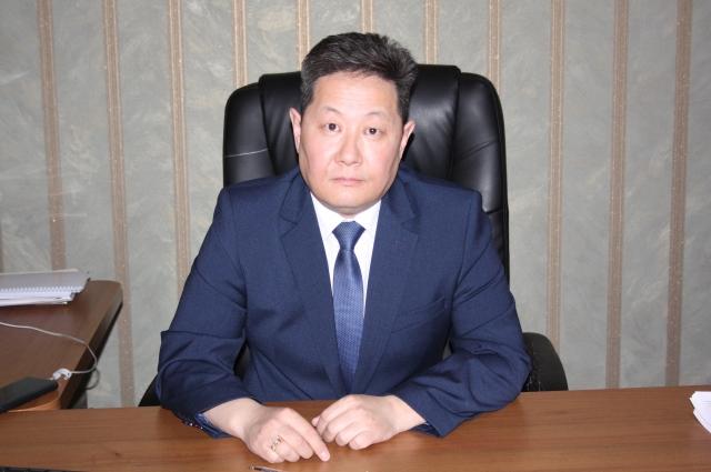 Врио руководителя Управления ФССП России по Республике Бурятия Пётр Ертанов.