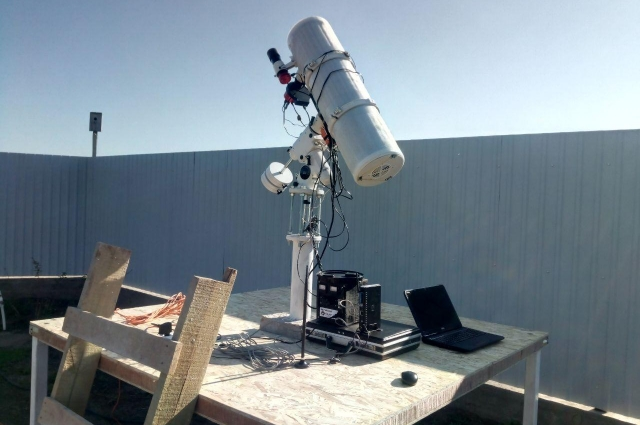 Благодаря помощи неравнодушных людей в Оренбуржье появилась своя автоматическая обсерватория.