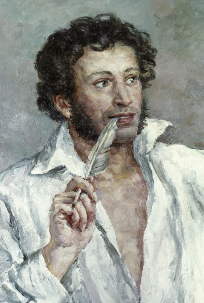 Александр Пушкин поместил Фонвизина в одно из своих главных творений.