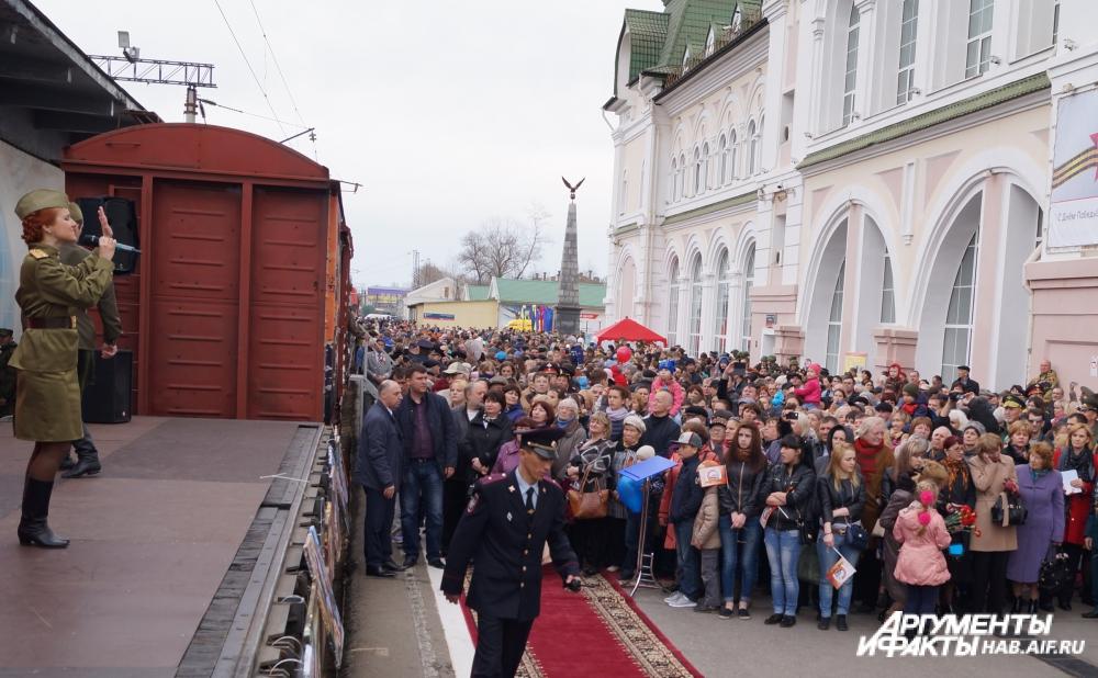 Хабаровчане жалели только об одном: концерт был слишком коротким.