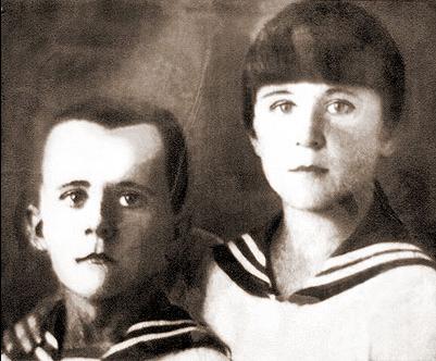 Марат и Ариадна Казей, ок. 1935 г. (ранее 1 января 1939 года)