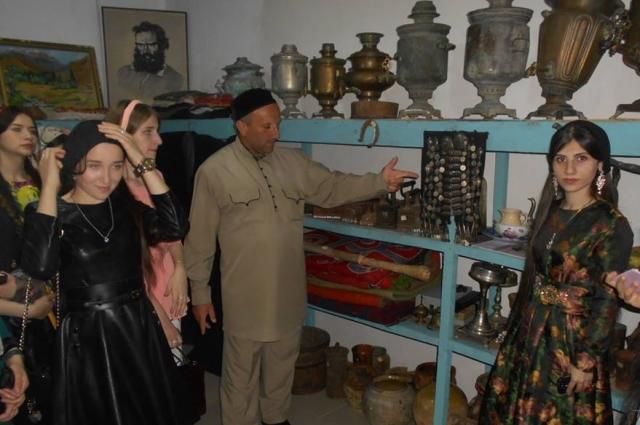 Музей Л.Н. Толстого в Чечне не тронули ни во время первой, ни во время второй военной кампании.