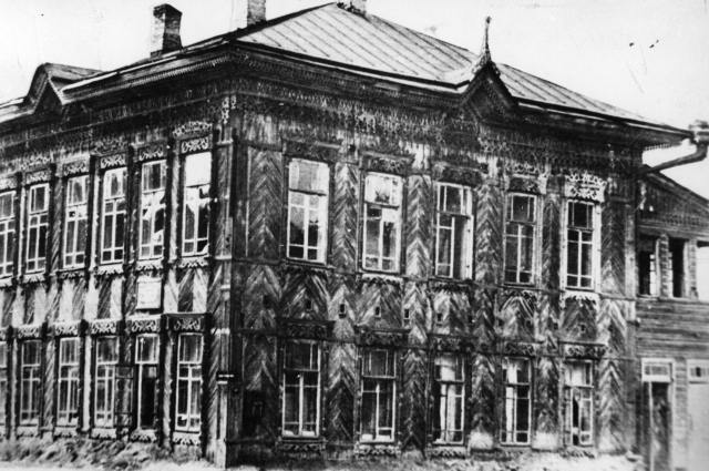 Дом купца Балаганского находился недалеко от современной филармонии.
