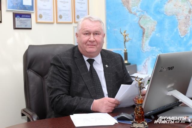 У Андрея Фёдорова - планы масштабные.