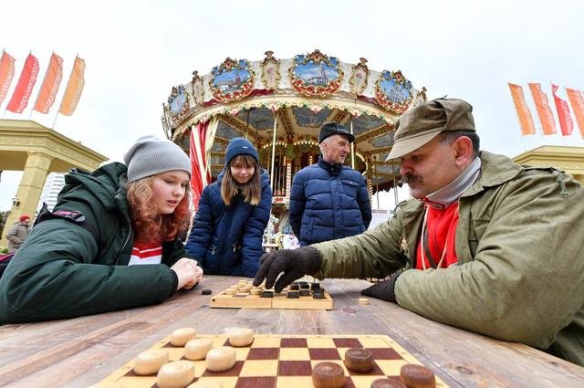 Мастер-класс по шахматам.
