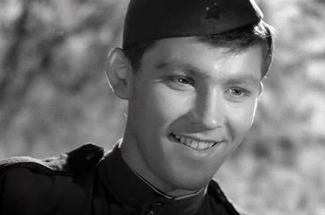 Владимир Ивашов в фильме «Баллада о солдате», 1959 год.