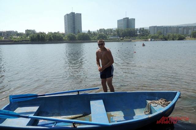 Спасательная лодка Артёма Копытова