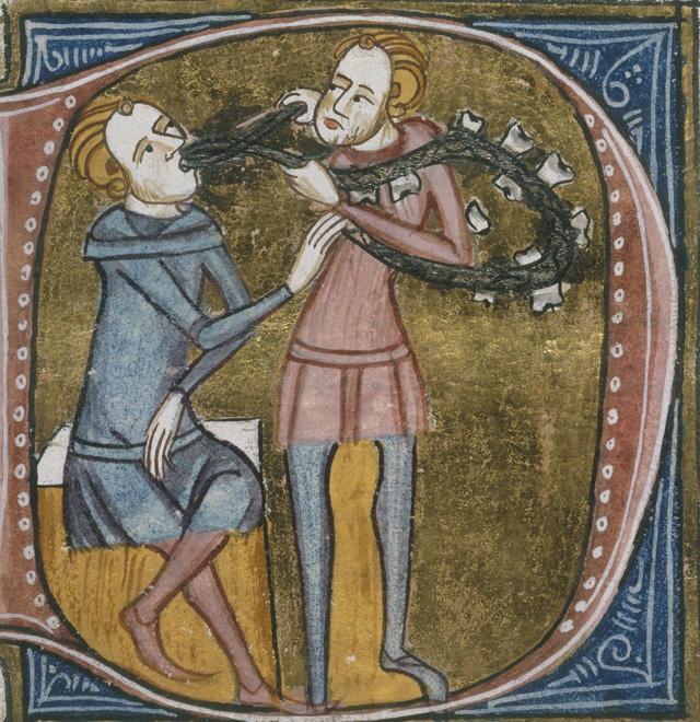 Средневековый цирюльник
