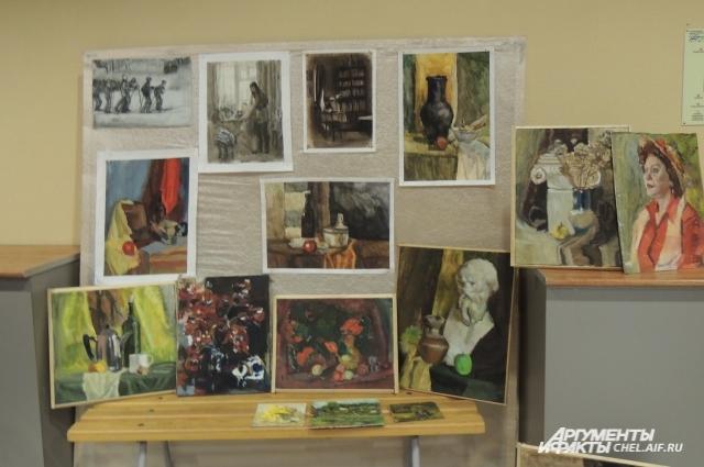 Наше место - Выставка работ