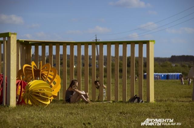 Погода благоволила фестивальщикам – все три дня светило яркое солнце.