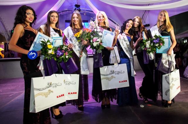 Победительницы конкурса красоты