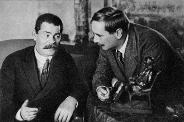 Герберт Уэллс доверял Максиму Горькому, которого считал своим другом.