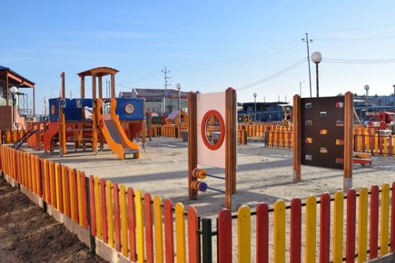 Строительство детского сада в Тазовском районе