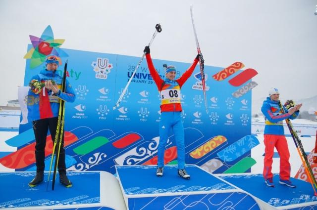 Биатлонист Сергей Корастылев принес сборной три медали.