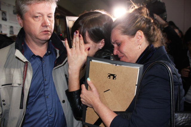 Единственный вопрос, который задавали родственники убитых Егорову на суде, был