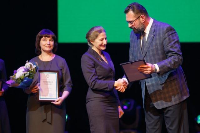 Награждение в честь юбилея ОКБ