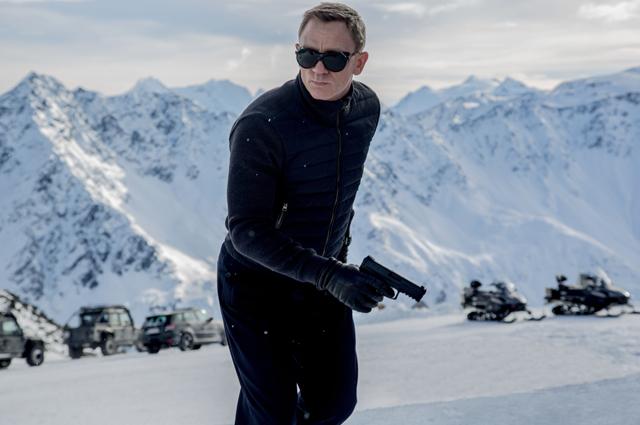Дэниел Крейг в фильме «007: Спектр»