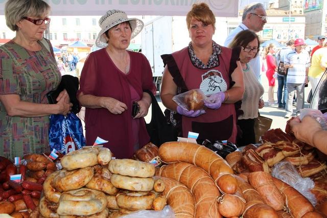 Белорусская колбаса дешевле приморской
