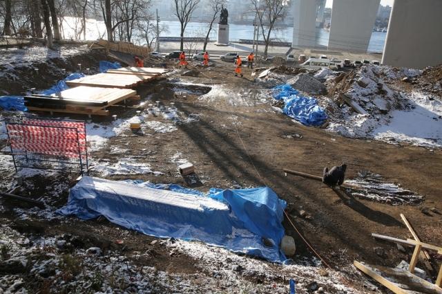 Восстановление Пушкинского сквера