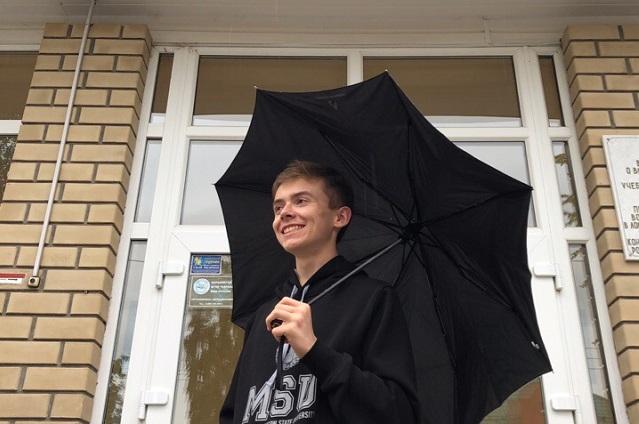Даниил Змеев - уже студент МГУ.
