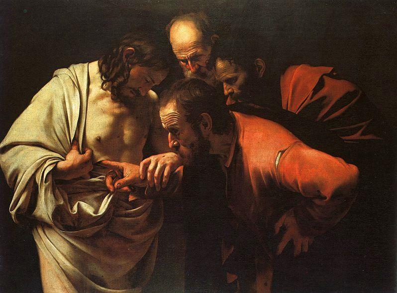 Караваджо «Неверие святого Фомы»