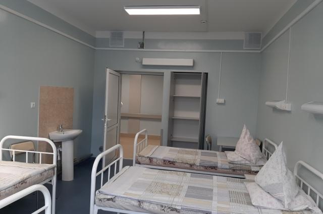Хирургическое отделение нижегородской больницы № 40 после ремонта.