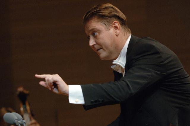 Александр Сладковский во время выступления