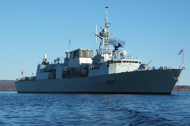 Фрегат Фредериктон ВМС Канады