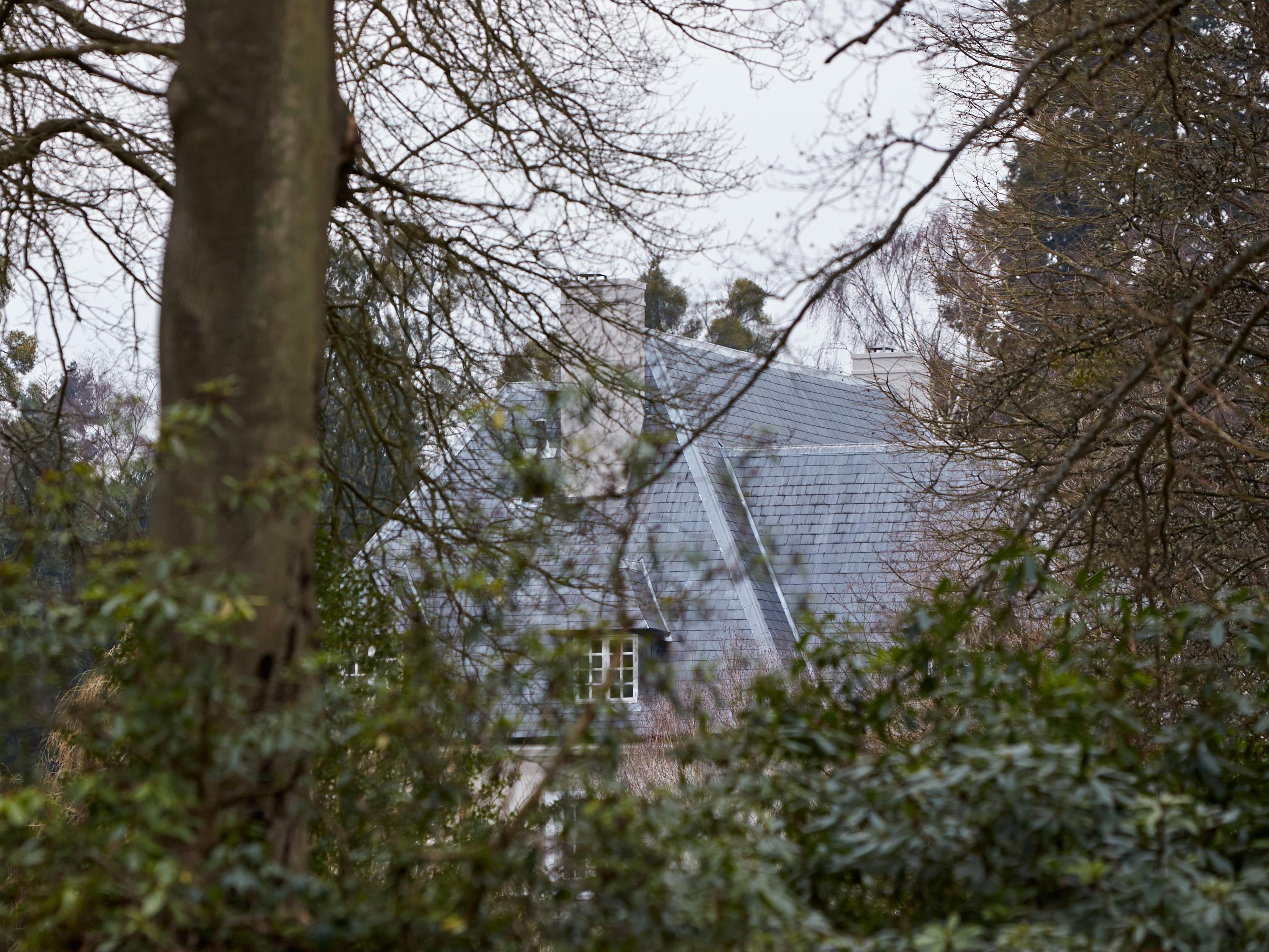 Дом бывшей жены Березовского в графстве Беркшир (Великобритания), где было онаружено тело покойного бизнесмена