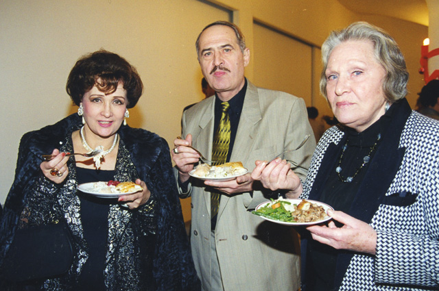 Зинаида Кириенко, Валерий Тарасевский и Римма Маркова