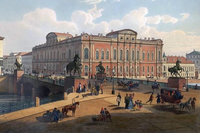 В 1739 году Комиссия  по Санкт-Петербургским строениям постановила именовать мост Невским, но это название так и не прижилось.