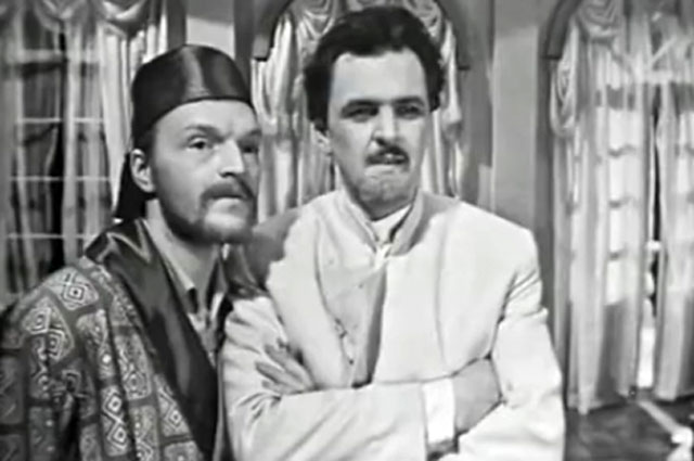 Александр Кайдановский и Юрий Яковлев в фильме «Драма на охоте», 1970 год