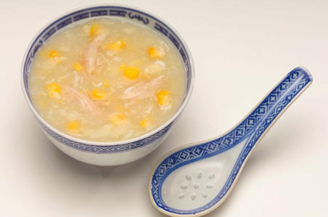 Кукурузный суп.