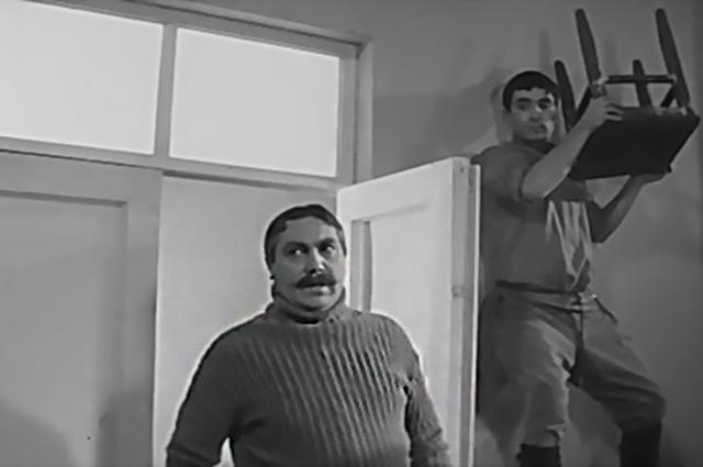Павел Луспекаев в фильме «Республика ШКИД».