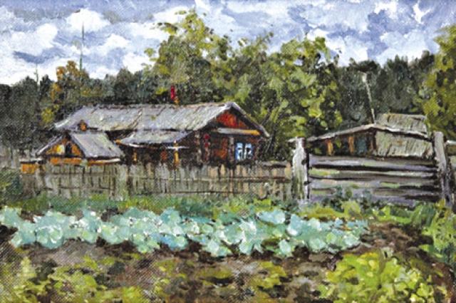 Заслуженный художник России Антон Довнар запечатлел родной дом на своих полотнах.