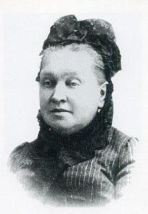 Одна из немногих сохранившихся фотографий Е. П. Лыжиной.