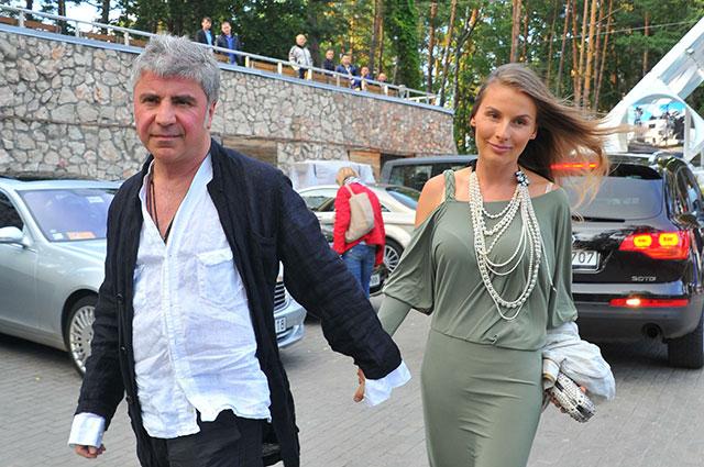 Сосо Павлиашвили с супругой Ириной.