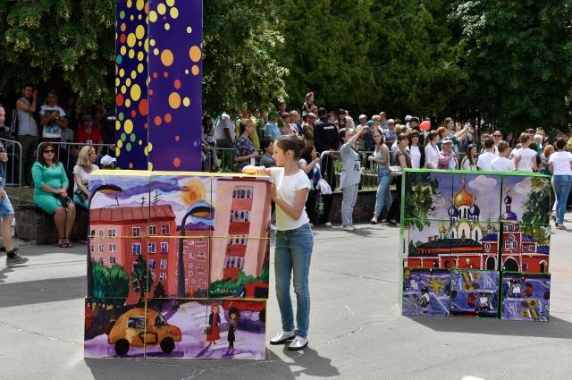 Главными героями праздника были талантливые дети.