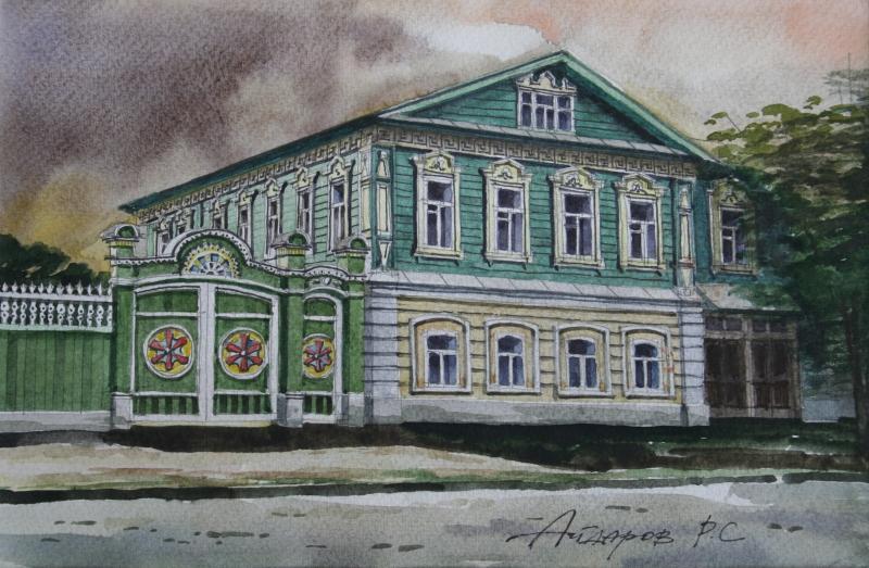 Татарская усадьба