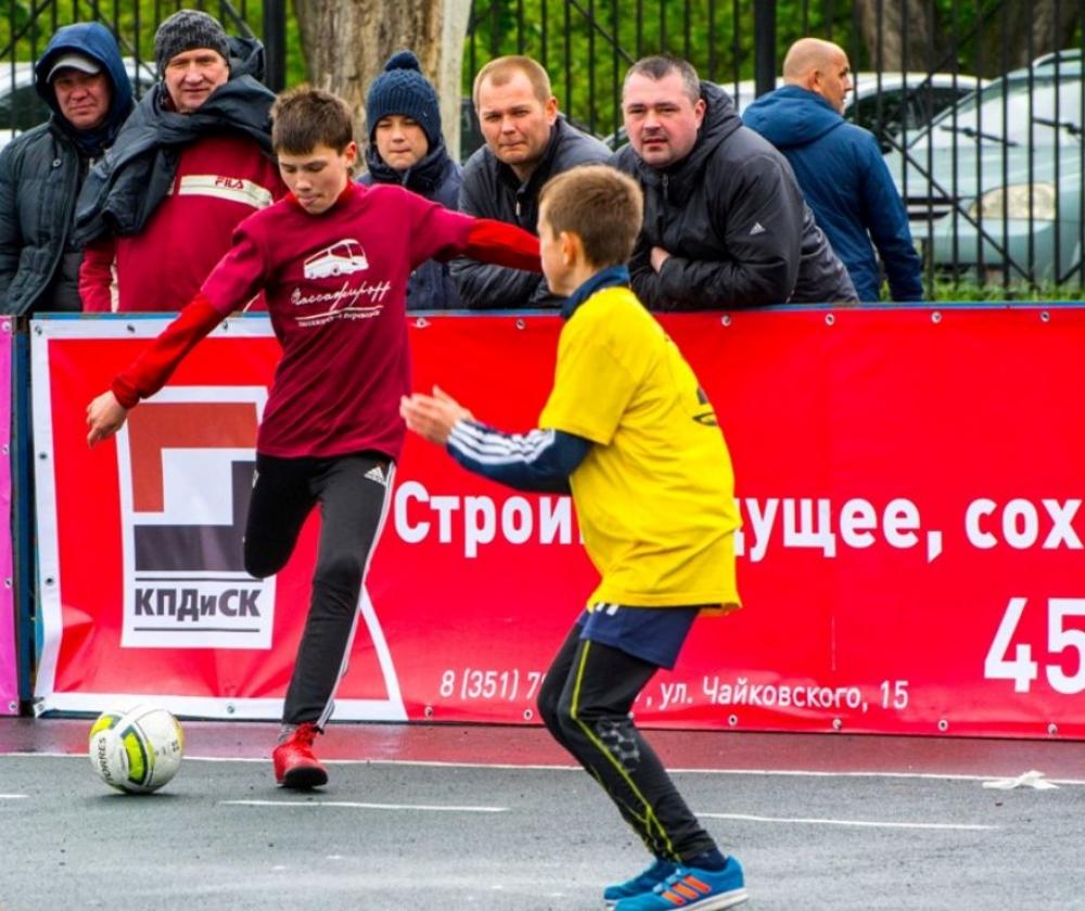 Фестиваль собрал футболистов в возрасте от 10 до 13 лет.